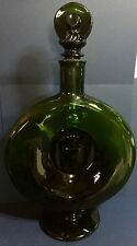 "1970s Large 14"" FACTICE PERFUME Display Bottle Empty Unique Shape w/Emblem"