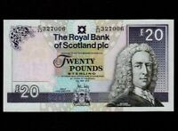 Scotland:P-354e,20 Pounds,2012 * Royal Bank * Lord Ilay * UNC *