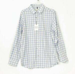 NWT Crosby & Howard Mens Check Dress Shirt US Large