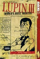 LUPIN III - WORLD'S MOST WANTED VOLUME 8 By Monkey Punch *Excellent Condition*