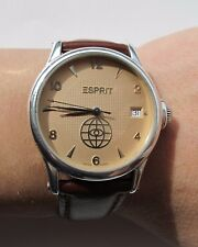 ESPRIT TIMEWEAR AUTOMATIC CAL.ETA 2824-2 SILVER CASE 925 MENS 34.5mm LIMITED EDT