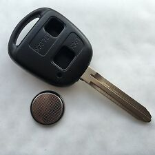 Fits TOYOTA CAMRY CELICA COLORADO RAV4 PRIUS 2 BUTTON REMOTE KEY FOB CASE TOY43