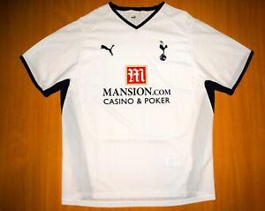 TOTTENHAM 2008 2009 HOME PUMA Football shirt jersey XL