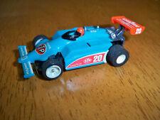 Tyco STP # 20 Blue Indy IRL slot car Unused 440 X 2