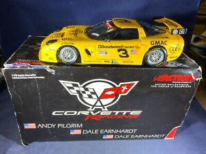 M5-76 DALE EARNHARDT #3 GM GOODWRENCH 2001 CHEVY CORVETTE RACING - 1:18 SCALE