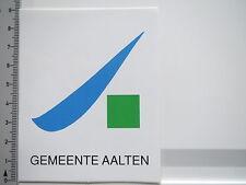 Aufkleber Sticker Gemeente Aalten - Niederlande (S1295)