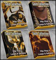Ultimate Gold Collection - All Hip Hop 1-4 Epic Megapack Bundle Hip Hop Loops