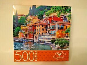 Cardinal Jigsaw Puzzle, Holiday In Italy 500 Pieces * NEW! 14 x 11