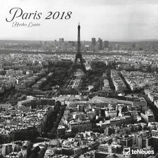 CALENDRIER 2018 - PARIS N/B - 30 x 30 cm