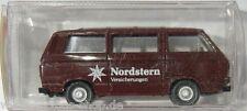 Furgoneta VW t3 modelo-Wiking 1:87 h0-Estrella del Norte-marrón-nuevo