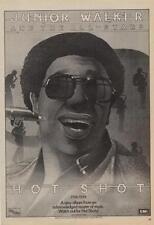 Junior Walker Trade Press Advert 1975/6