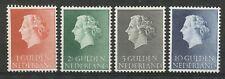 Nederland  637 - 640 postfris