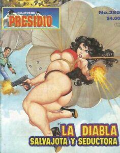 RELATOS DE PRESIDIO MEXICAN COMIC #295 MEXICO SPANISH HISTORIETA 2000 CRIME