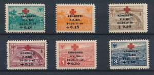 [33549] Albania 1946 Good set Very Fine MH stamps