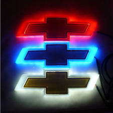 4D Car LED Logo Light Auto Badge Rear Emblems Lamp For CHEVROLET CRUZE Malibu