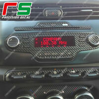 alfa giulietta  ADESIVI kit stereo radio decal sticker carbonlook 4D