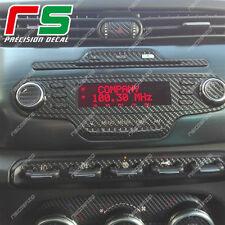 alfa giulietta  ADESIVI kit stereo radio decal sticker carbonlook 4D