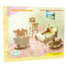 3d Wood Construction Puzzle Small - Childs Bedroom