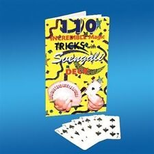BICYCLE SVENGALI DECK WITH 110 TRICKS booklet Playing Cards Gaff Magic forcing