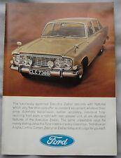 1965 Ford Executive Zodiac Original advert No.1