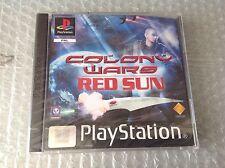 Vintage# Sony Ps1 Playstation Colony Wars Red Sun #Psygnosis# Sigillato Sealed