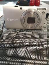 Canon PowerShot A4000 IS 16.0MP Digital Camera - Gray