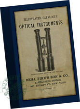 Benj Pike's Son 1880 CATALOG Optical Instruments Microsocpes Telescopes Medical