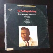 NAT KING COLE Story SW 1926/7 ISRAEL DOUBLE ALBUM ISRAELI LP