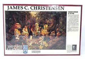 James Christensen Once Upon A Time FX Schmid Puzzle 1000 pc 1993 SEALED NOS