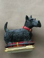 Vintage Halcyon Days Scottie Dog Bonbonnieres - New In Box