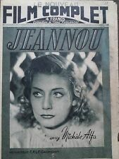 """LE NOUVEAU FILM COMPLET 1946 N 22 """" JEANNOU """"  avec MICHELE ALFA"""