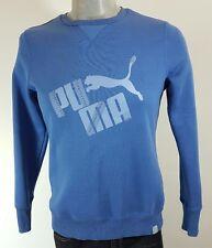 Puma Linea Donna Felpa Blu con Dettaglio Gioiello Taglia 14