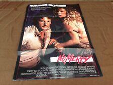 1986 No Mercy Original Movie House Full Sheet Poster