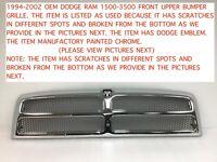 2002-2010 dodge ram 1500-3500 rear bumper step pad 55077340ad