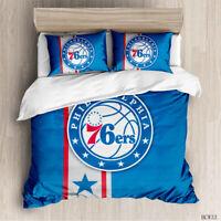 Philadelphia 76ers Bedding Set Duvet Cover Pillowcases Quilt Comforter Cover