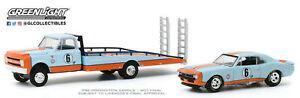 1967 Chevrolet® C-30 Ramp Truck and Camaro® #6 Gulf Oil.