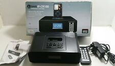 LIMIT IP-CR100 PORTABLE STEREO (MP3, APPLE DOCKING) with AM/FM Radio - Black
