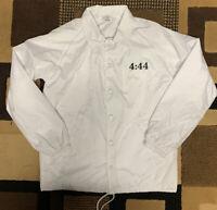 Jay Z 4:44 Tour Jacket White Small Windbreaker Security Jacket
