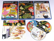 3 Spitzen KINDER Spiele für Playstation 2 z.B. SPONGEBOB; KIM POSSIBLE; HANNAH