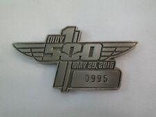 2016 Indianapolis 500 Silver Pit Badge #0995 Alexander Rossi Andretti Autosport