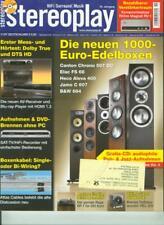 Stereopl.11/07 Magnat RV 1,T.A.C. V 60,Rega RP 1,ADAM Tensor Beta,REL R 205
