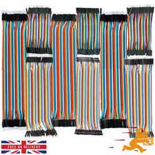40-120pcs Dupont Cable Jumper Breadboard Wire M-M/F-F/M-F 10/20/30cm Arduino RPI