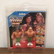 WWF/WWE The Rockers Vintage Hasbro Tag Team Action Figures MOC with case