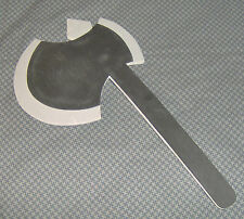 HALLOWEEN FOAM AX PROP DECORATION! GREAT FOR COSTUMES OR SCARY HAUNTED SCENES