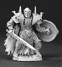 Reaper Miniatures Unpainted Benedikt Hellhorn, Evil Warrior #03200 Dark Heaven