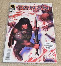 CONAN #1 Signed by Kurt Busiek