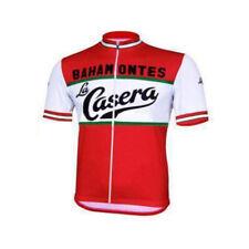 Retro La Casera Pena Bahamontes  Cycling Jersey mens Cycling Short Sleeve Jersey