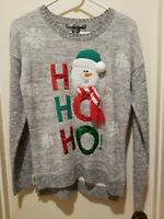 NWOT United States Sweaters Ugly Christmas Sweater Riendeer Womens Sz XS HO HO