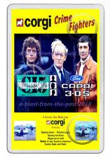 CORGI 342 CAPRI 3.0S THE PROFESSIONALS FLYER ART NEW JUMBO FRIDGE LOCKER MAGNET
