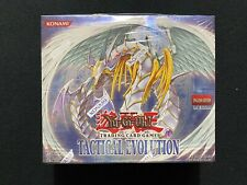 Yugioh! Tactical Evolution 1st Edition Booster Box Factory Sealed